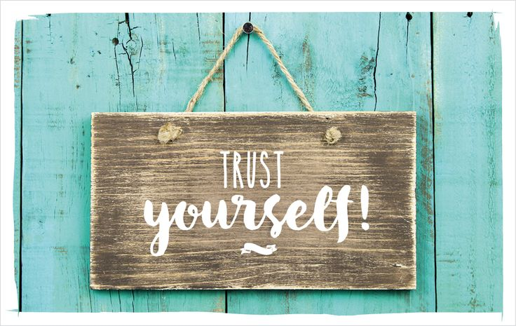 Trust yourself! vossentowels postcardswithlove positivequote thinkpositive motivation inspire