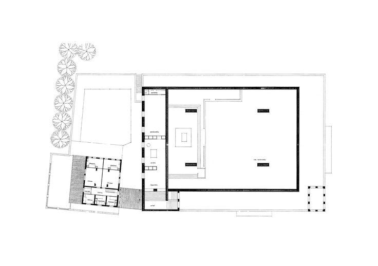 Ground floor plan | Andrieskerk Nuenen | 1964