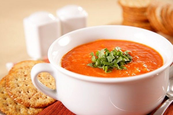 Healthy Tomato Basil Soup | Warm, creamy, healthy – and delicious! » Southern Idaho Living