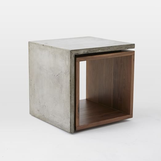 The 25 best ideas about concrete furniture on pinterest concrete design concrete light and Concrete and wood furniture