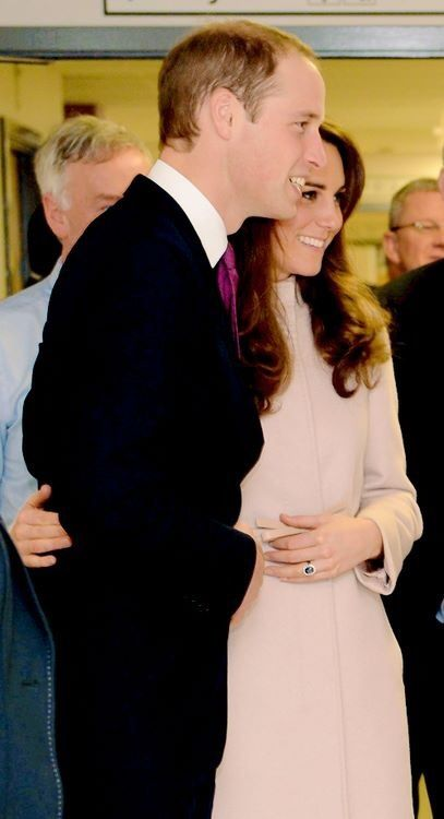 William and Kate a loving couple