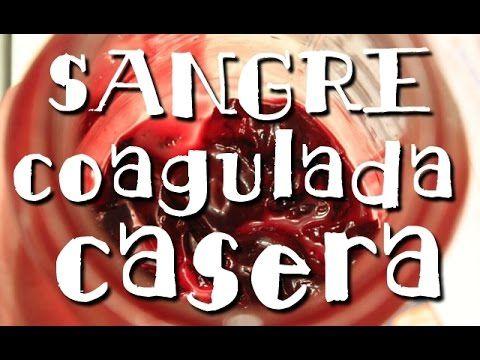 Como Hacer Sangre Falsa Casera Comestible *Blood Make Up* Halloween y Carnavales Pintura Facil - YouTube