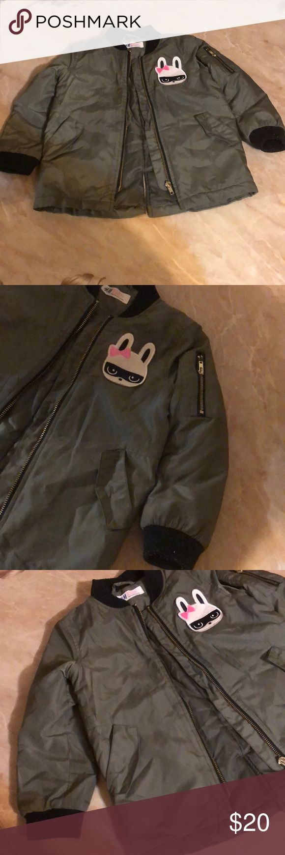 H&M TODDLER BOMBER JACKET Bomber jacket. Good condition. Size: 3-4 H&M Jackets & Coats Puffers