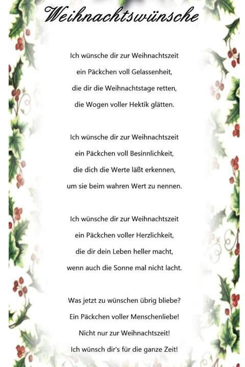 1000 ideas about advent gedichte on pinterest - Sms spruch weihnachten ...