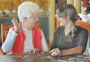 Tips for keeping the person with dementia active, at all stages of the disease. #AlzActivity