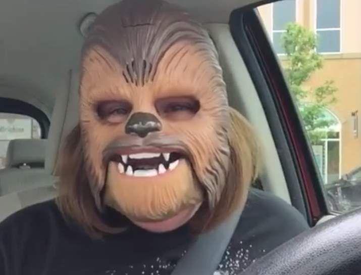 #Campañas_de_Marketing #amazon #Chewbacca La fámosa máscara de Chewbacca, de lo más vendido ahora en Amazon