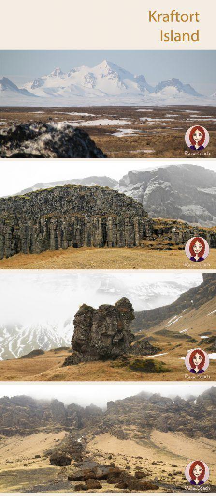 Am eindrucksvollsten für mich sind in Island immernoch die unendlich weiten Lavalandschaften mit ihren bemoosten Hügeln, Basaltsteinen und scharfkantigen Felsen, die – gerade bei Schneegestöber – schon einmal wie ein Troll in der Landschaft wirken können … Unwirklich schön! ...