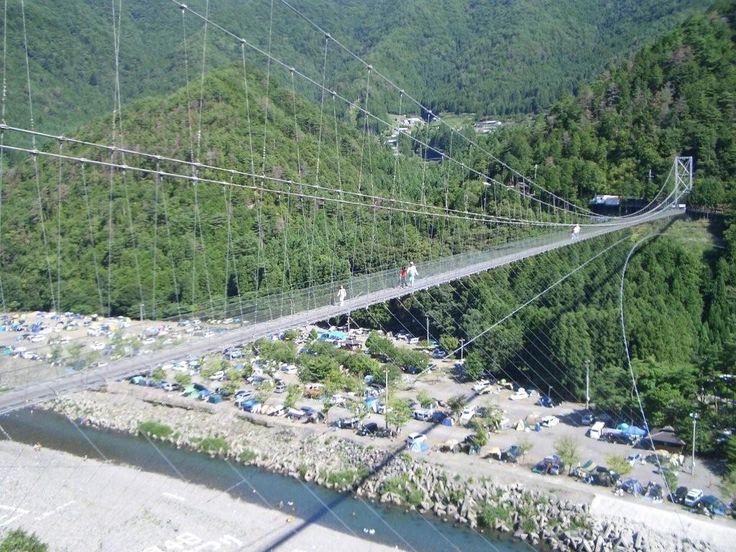 谷瀬の吊り橋 : 【満足度200%】厳選45!奈良観光おすすめスポット(Nara Japan) - NAVER まとめ