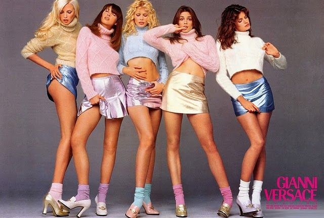 I never thought I'd say I miss the Supermodels of the 90's, who would be lingerie, not fashion models today.