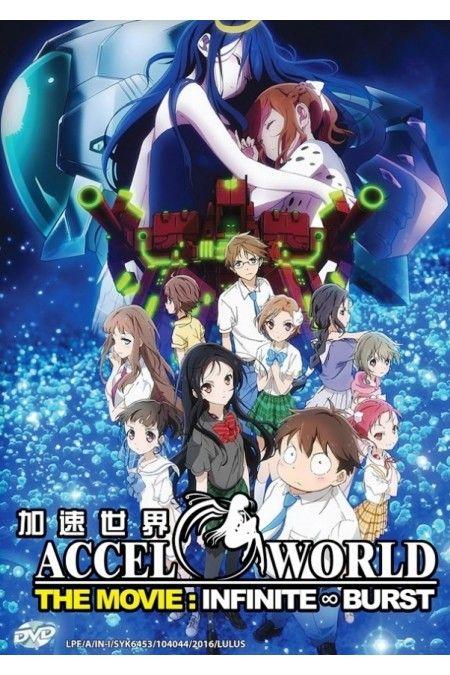 Accel World The Movie Infinite Burst Anime DVD