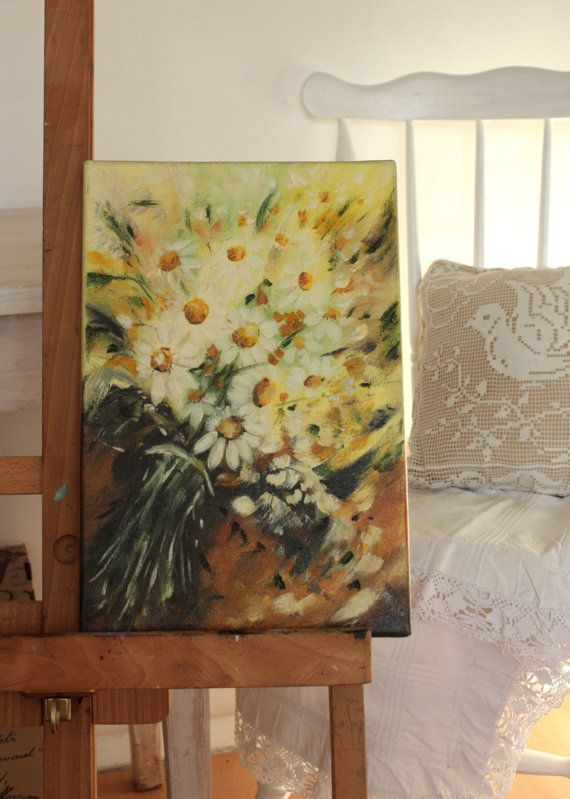 Autumn's daisies by BarbaraGallery on Etsy