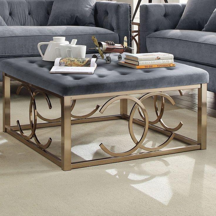 Jaxson Fabric Coffee Table