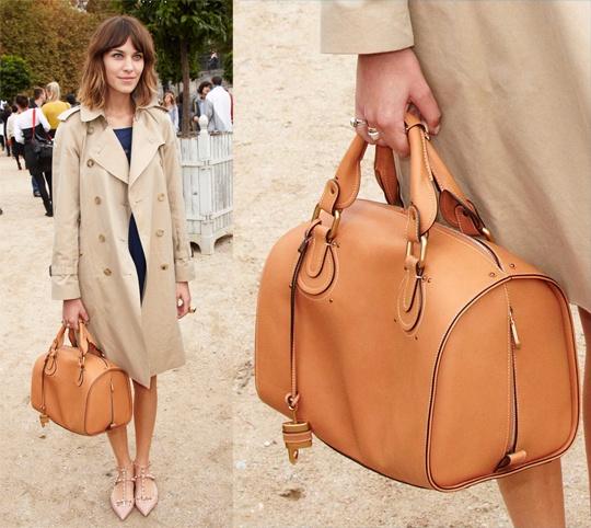 Chloe Aurore Duffle Bag in Genuine Leather | *Wishlist | Pinterest ...