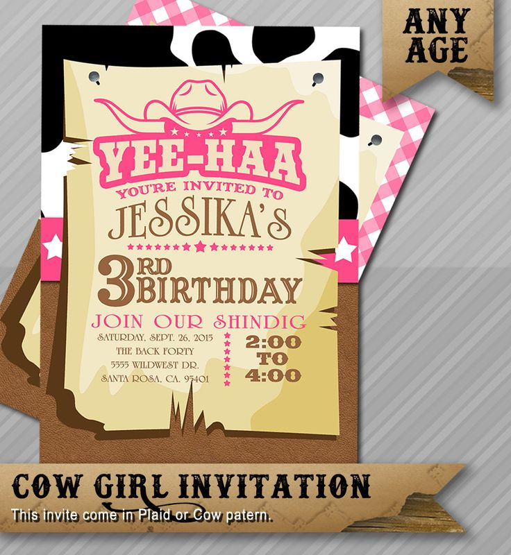 The 25+ best Western invitations ideas on Pinterest | Cowboy ...