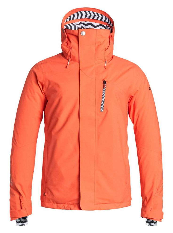 Take this jacket with you when it's sunny and warmer than expected outside. The Wilder Jacket is built with a GORE-TEX® outer layer to ensure optimal wind and waterproofing while maintaining perfect breath-ability to keep you warm and dry on the inside. Its also fashionable with it's urban styling and feminine waistline. Stay stylish and visit Roxy in the Village.