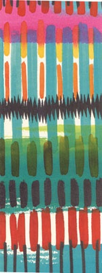 alexander henry africa matchstick stripe bright - from Hancocks of paducah  modern africa #2