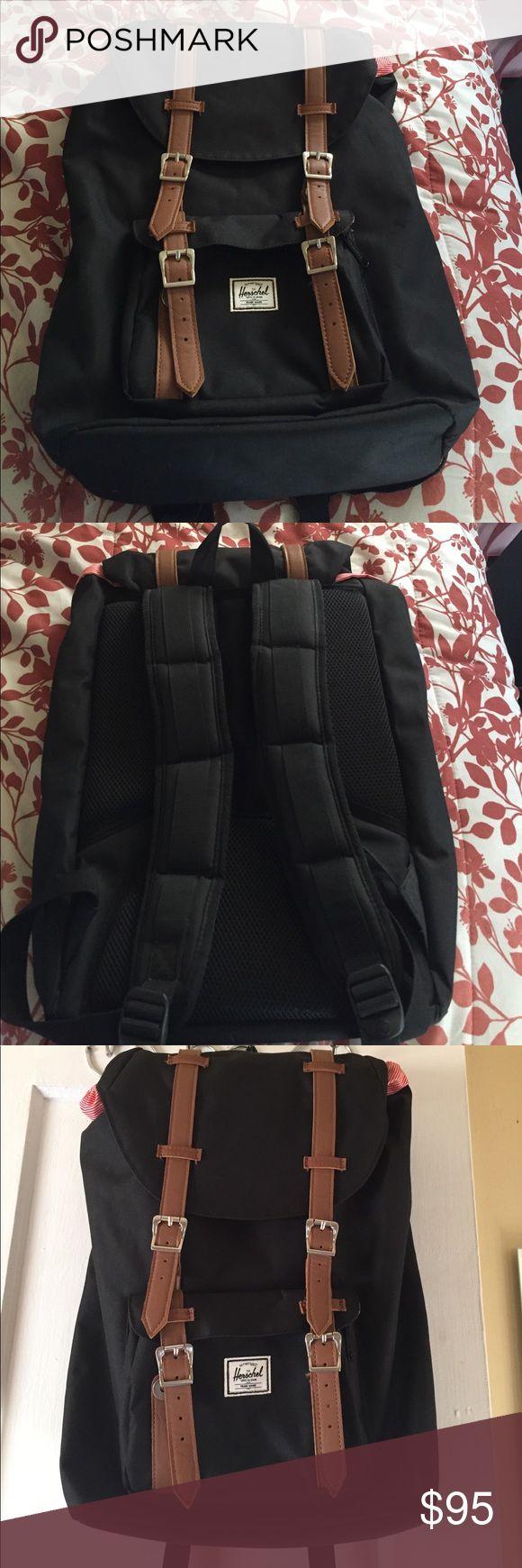 Herschel little America backpack Used twice. Herschel supply co little America backpack. Great condition. Herschel Supply Company Bags Backpacks