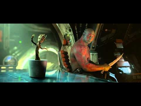 Dancing Baby Groot in Guardians of the Galaxy from Marvel / Disney - YouTube
