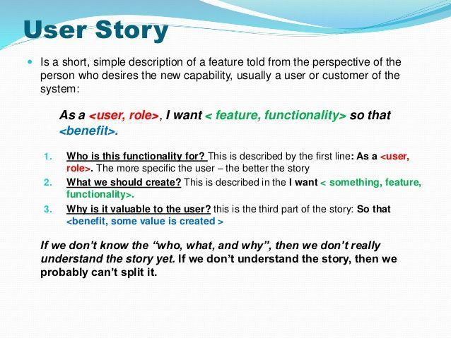 Strategies To Split User Stories User Story Agile Software