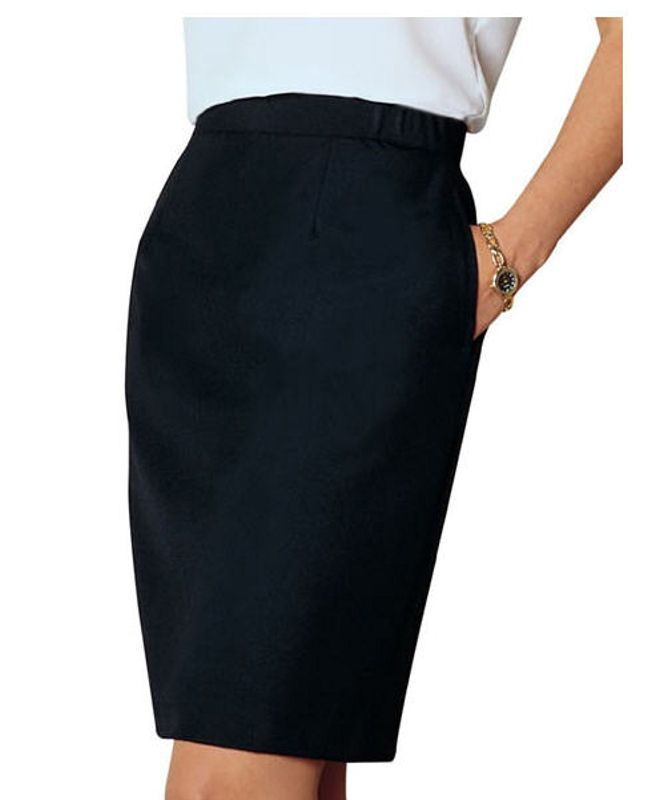 skirt below the knee polyester catering