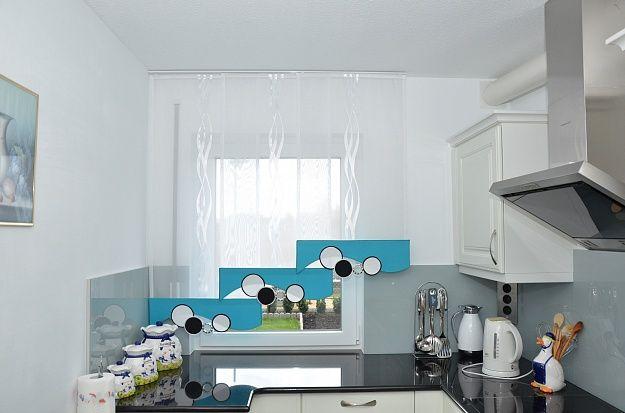 Küche \ Bad « Gardinen Liliya Kuche \ Bed Pinterest - gardine küche modern