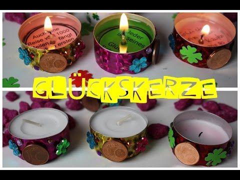 Kerze mit Geheimbotschaft | Kleine Geschenke selber machen | Last minute Geschenke | chestnut! - YouTube