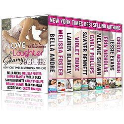 NY Times, USA Today, Amazon Bestselling and Award-Winning Authors  From the hot big city heroes that make us melt, to the sassy small town heroines that make us smile, this limited edition collection has something for everyone. Ten sexy and sweet full-length novels—a wide mix of fun, heart-tugging, addictive romantic love stories— each handpicked by an all-star gathering of ten of today's most popular contemporary romance authors.  THIS BOXED SET INCLUDES: BELLA ANDRE – Can't Help Falling in…