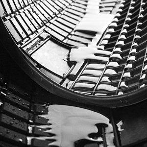 Tapis de sol caoutchouc: DAF CF 65 , 75 , 85 (2002-….) – Set de 2 tapis de pieds – noire – inodores (un parfum délicat de vanille)