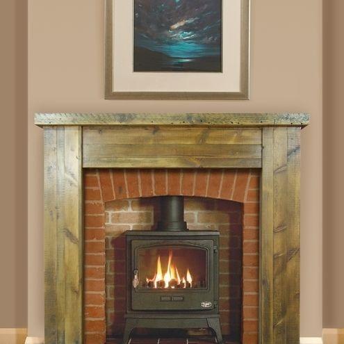 Barn Wood Fireplace Surround Stuff To Build Pinterest