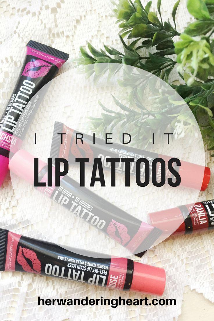 I Tried It: Lip Tattoos  herwanderingheart.com