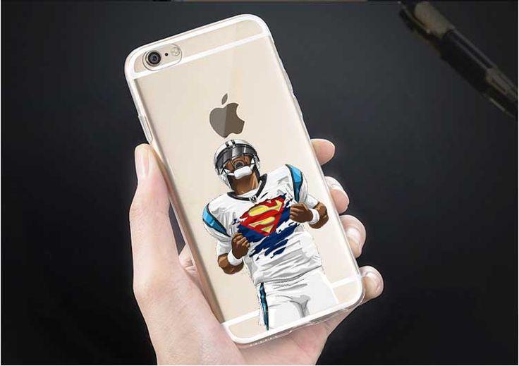 Football Odell beckham jr Watt Gronk Carolina Panthers Cam Newton Superman Dab Dance For iphone 4S 5 5S 5C SE 6 6S 6Plus 7 7Plus #Affiliate