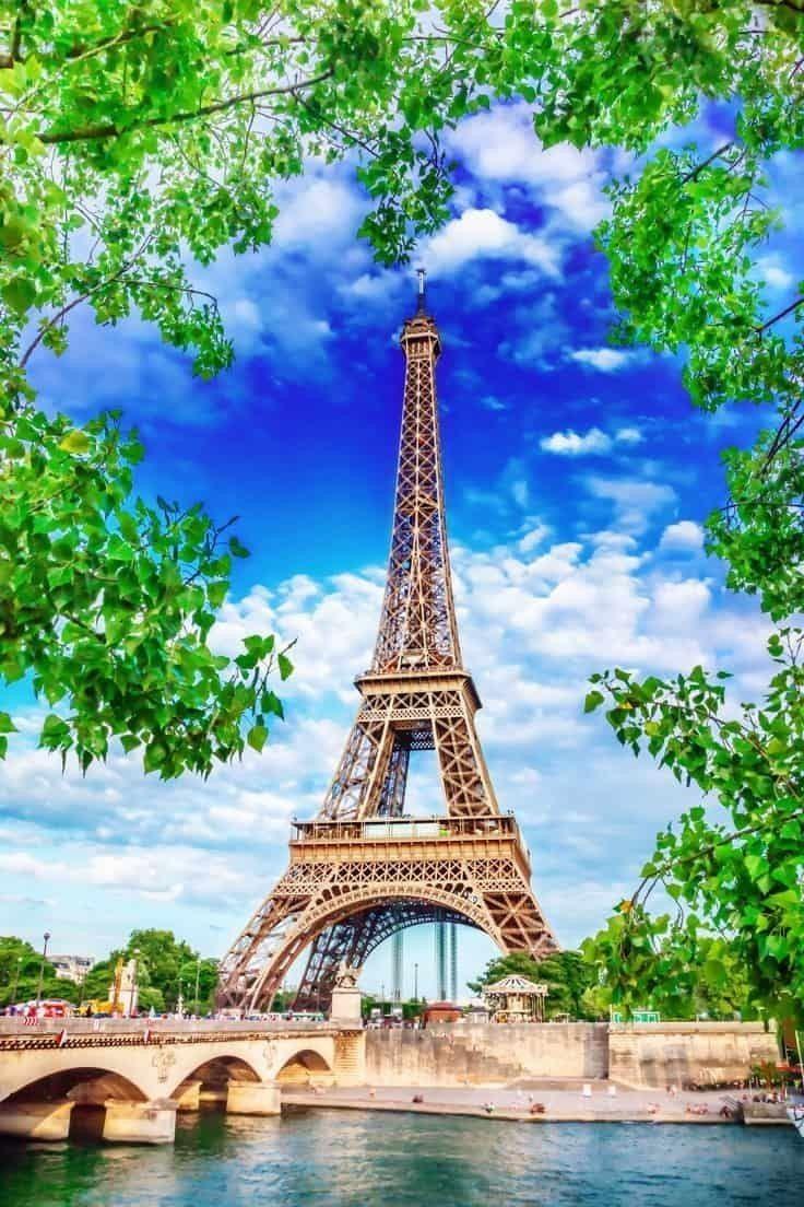Обои Эйфелева башня, рисунок. Города foto 19