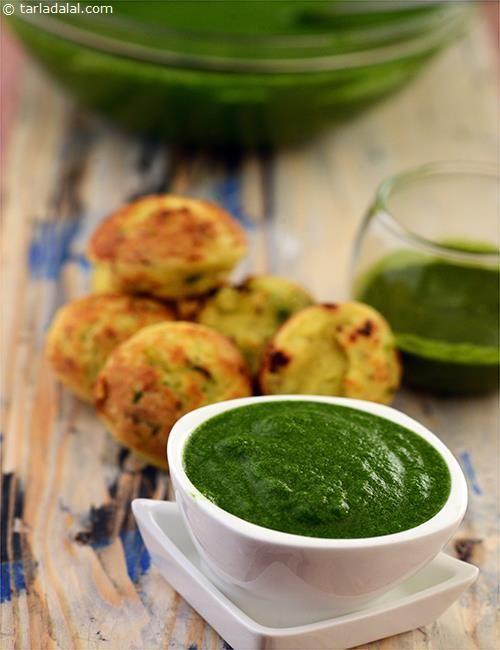 Green Chutney ( Jain Recipe ) recipe | Jain Recipes | by Tarla Dalal | Tarladalal.com | #7520