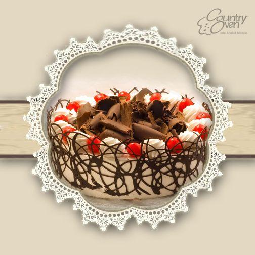 Chocolate cake makes everyone smile..