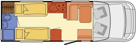 Wohnmobil Dethleffs Esprit T 7010 - Maxi 4,25t - ID: HC1930060 #Dethleffs #Esprit #T 7010 #Wohnmobil - Caravans - Wohnwagen & Reisemobile