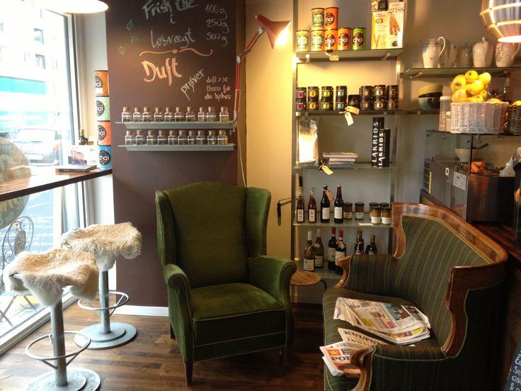 Cozy cafe in Copenhagen