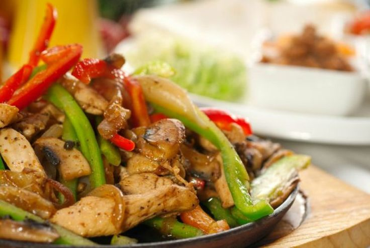 Grilled Chicken Fajita Recipe by Milagros Cruz