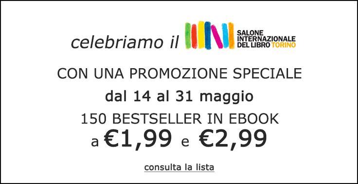 Dal 14 al 31 maggio 150 ebook, dai cataloghi Fanucci editore, Timecrime e Leggereditore al prezzo di €1.99 o €2.99