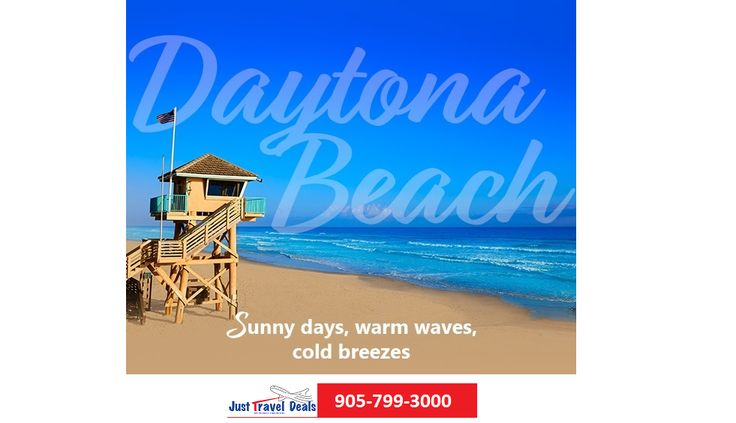 Plan your getaway with Daytona Beach!