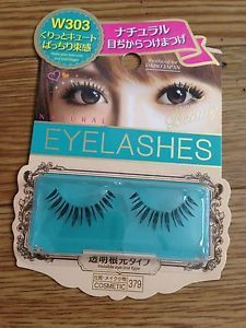 New Daiso Japan Cosmetic False Eyelash Natural Look Invisible Eye Line Type W303 | eBay