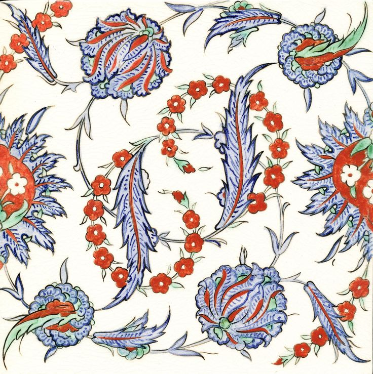 Nicholas Riley Iznik Tile Price: £80.00