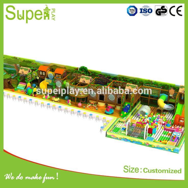 Kids indoor commercial playground equipment for amusement park