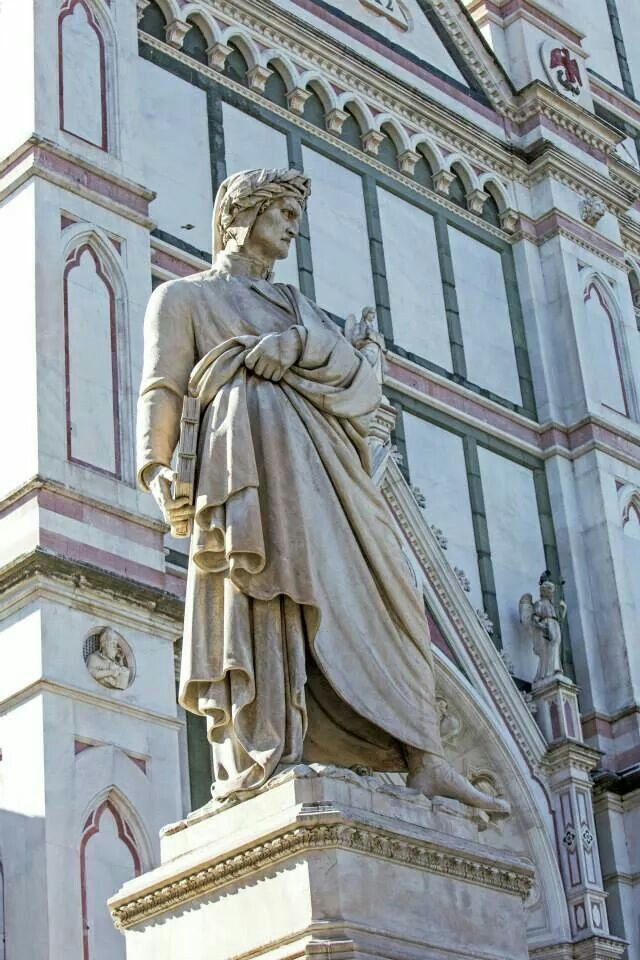 Statue of Dante, Florence.