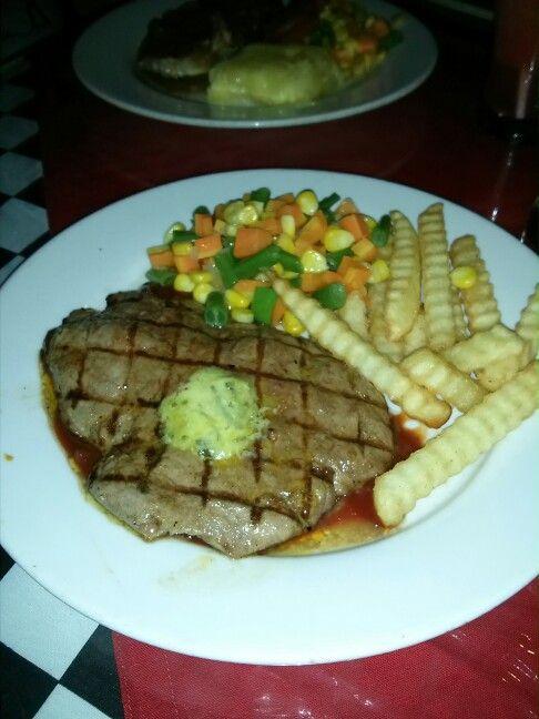 Steak at chuba cafe bandung