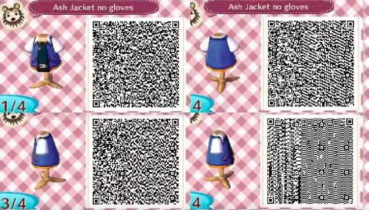 Pin by Ziggy Soup on ACNL OUTFIT QR CODES   Animal