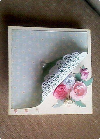 Открытка Скрапбукинг Ассамбляж Квиллинг открытки в сувенирный фонд Бумага фото 13