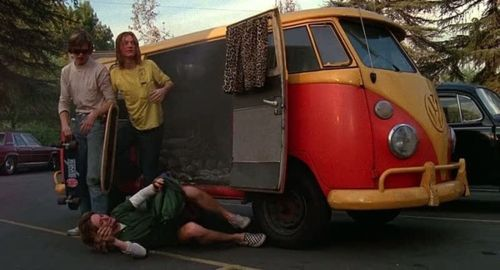 Photo of Spicoli and his stoner buds for fans of Fast Times at Ridgemont High.