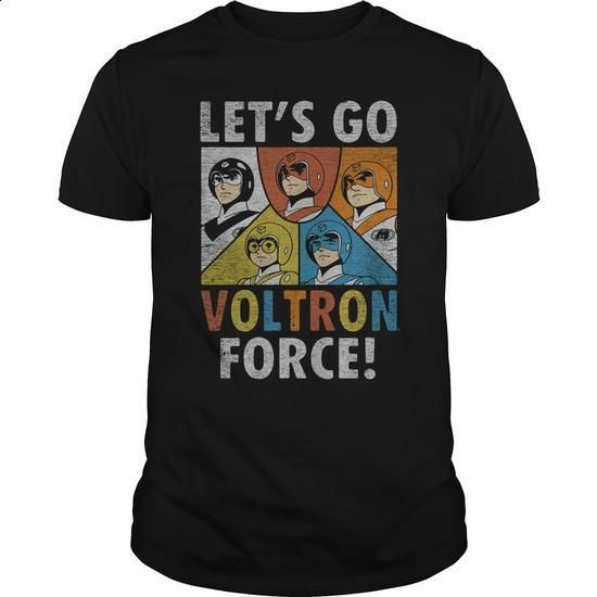 Voltron Force - #black sweatshirt #cheap tee shirts. ORDER HERE => https://www.sunfrog.com/TV-Shows/Voltron-Force-Black-Guys.html?60505