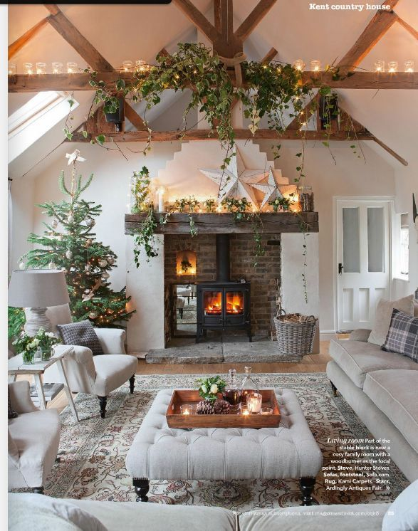 Best Rooms I Like Images On Pinterest Living Room Ideas - Cozy wooden country house design with interior in colors of provence