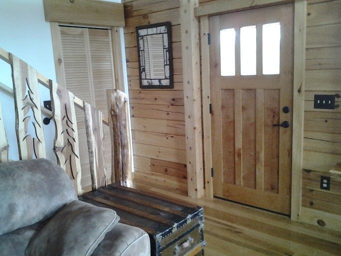 Itu0027s Wood Wednesday so check out this beautiful ETO Door that brings this log cabin together & 206 best Customer Photos images on Pinterest | Eto doors Garage ... pezcame.com